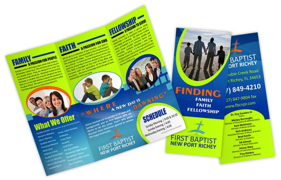 Custom Printed Brochures